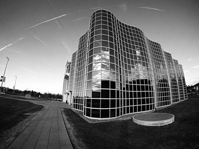 Photograph - Unique Architecture At University At Albany  by Jessica Tabora