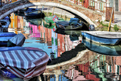 Photograph - Unique Burano by John Hoey