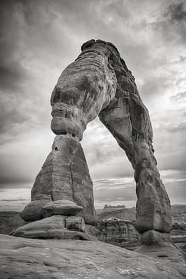 Photograph - Unique Delicate Arch by Adam Romanowicz