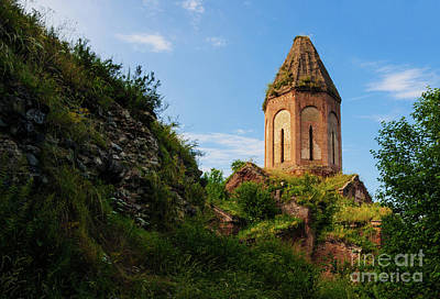 Photograph - Unique Kirants Monastery On A Sunny Day, Armenia by Gurgen Bakhshetsyan