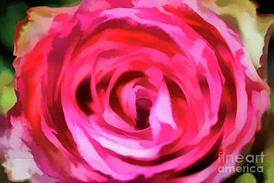 Digital Art - Unique Rose by Rick Bragan