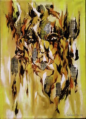 Painting - Unique View by Carmen Fine Art