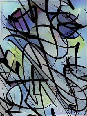 Jazz Mixed Media - Unison by Philip Openshaw