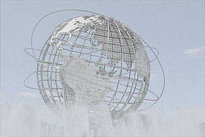 Photograph - Unisphere At Fifty by John Schneider