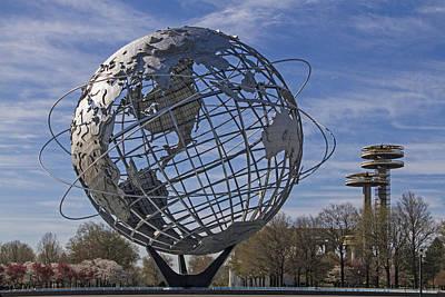 Photograph - Unisphere by Bob Slitzan