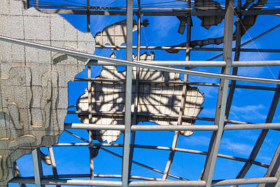 Photograph - Unisphere Close Up 1 by Bob Slitzan