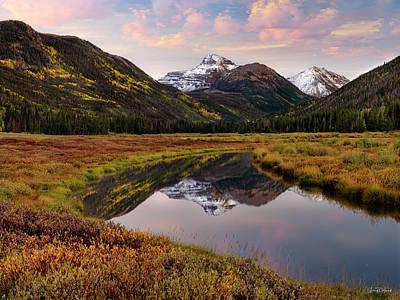 Photograph - Unita Reflections by Leland D Howard