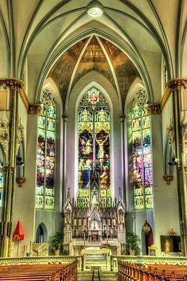 City Lights - Unitarian Church Charleston South Carolina Sancuary Alter by Douglas Barnett