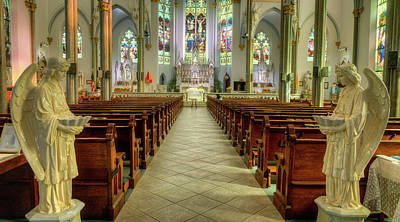 Photograph - Unitarian Church Charleston South Carolina Sancuary by Douglas Barnett