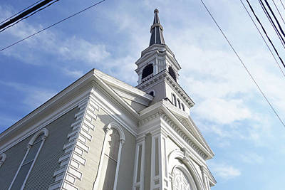 Photograph - Unitarian Church Montpelier Vermont by Toby McGuire