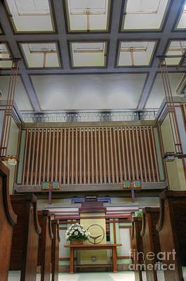 Photograph - Unitarian Universalist Temple - 4 by David Bearden