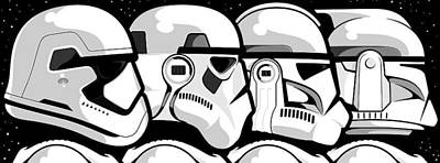 Unite The Troop Original by Neal Grieco