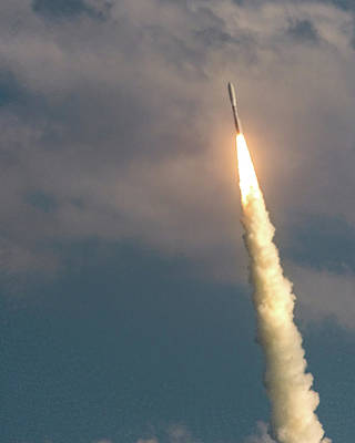Photograph - United Alliance Atlas V by Norman Peay