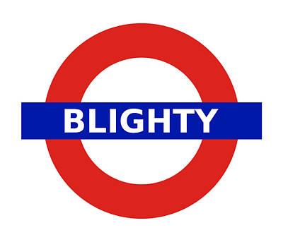 Digital Art - United Britain - Blighty by Richard Reeve