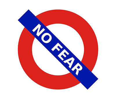 Digital Art - United Britain - No Fear by Richard Reeve