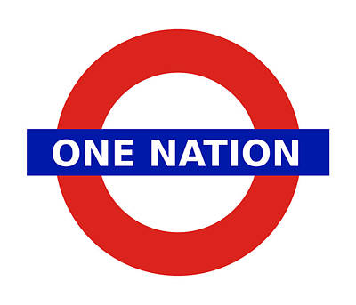Digital Art - United Britain - One Nation by Richard Reeve