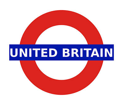 Digital Art - United Britain - Roundel by Richard Reeve