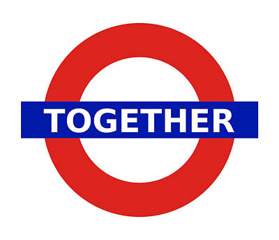 Digital Art - United Britain - Together by Richard Reeve