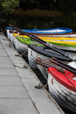 Photograph - United Colors Of Boats by Edgar Laureano