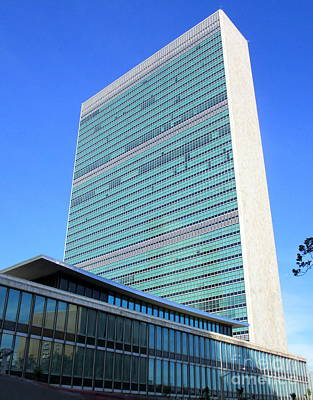 Photograph - United Nations 1 by Randall Weidner