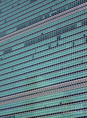 Art Print featuring the photograph United Nations 2 by Randall Weidner