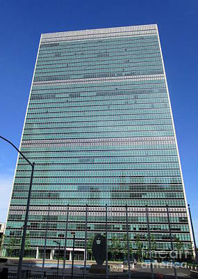 Art Print featuring the photograph United Nations 3 by Randall Weidner