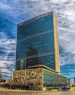 Photograph - United Nations Headquarters by Nick Zelinsky