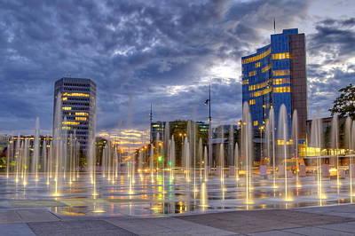 Photograph - United-nations Place, Geneva, Switzerland, Hdr by Elenarts - Elena Duvernay photo