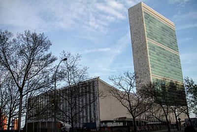 Photograph - United Nations by Robert J Caputo