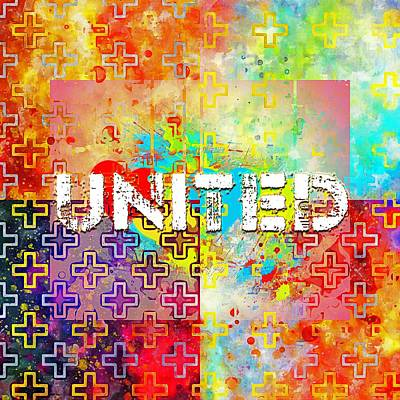 Digital Art - United by Payet Emmanuel
