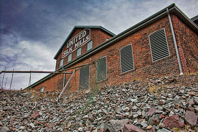 Photograph - United Silk Mills - Scranton by Kristia Adams
