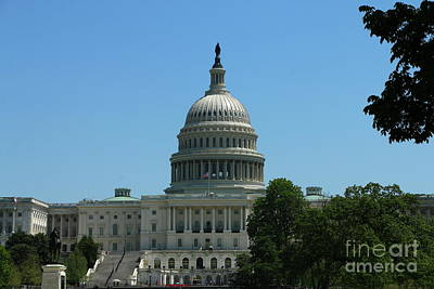 Photograph - United State Capitol   by Christiane Schulze Art And Photography