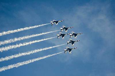 Photograph - United States Air Force Thunderbirds by Susan  McMenamin