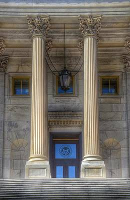 State Capitol Photograph - United States Capitol - House Of Representatives  by Marianna Mills