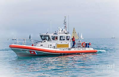 Photograph - United States Coast Guard by Grace Grogan