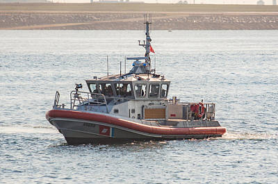 Photograph - United States Coast Guard Patrol Boat 2 by Brian MacLean