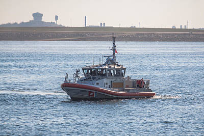 Photograph - United States Coast Guard Patrol Boat by Brian MacLean