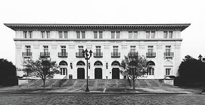 Photograph - United States Court House - Augusta, Georgia by Library Of Congress