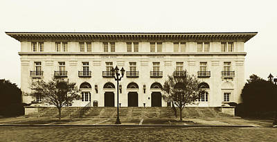 Photograph - United States Courthouse - Augusta, Georgia by Library Of Congress