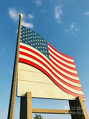 Photograph - United States Flag by Michael Krek