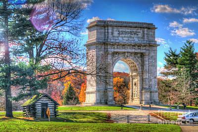 Photograph - United States National Memorial Arch by David Zanzinger