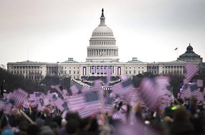United States Presidential Inauguration Art Print