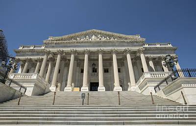 United States Senate Ceremony Door Art Print by David Bearden