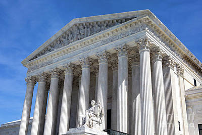 Photograph - United States Supreme Court Building by Steven Frame
