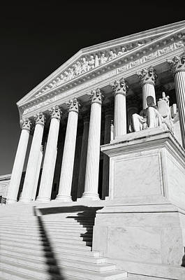 Photograph - United States Supreme Court In Washington Dc by Brandon Bourdages