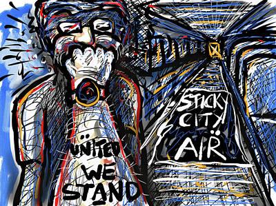 Digital Art - United We Stand by Joe Bloch