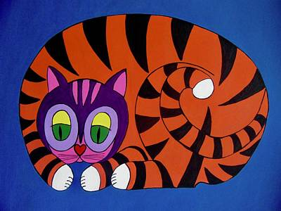 Painting - Unity Cat No 4 by Stephanie Moore