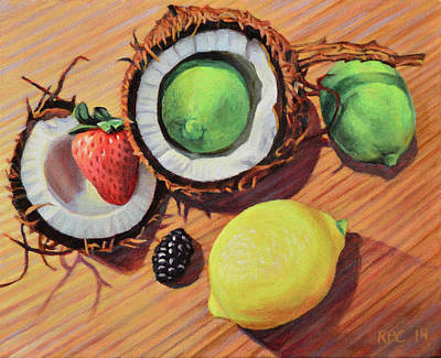 Tangy Painting - Unity by Kenneth Cobb