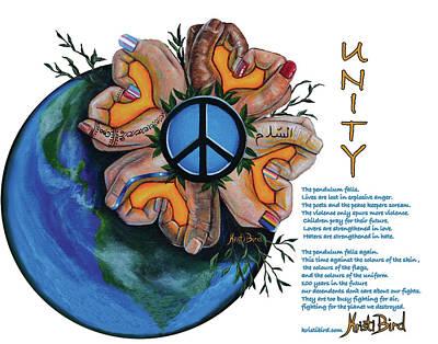 Unity Painting - Unity by Kristi Bird
