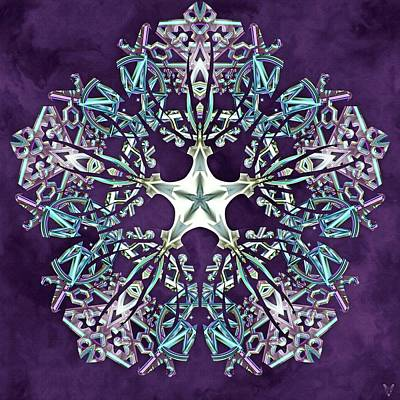 Digital Art - Unity Star by Derek Gedney